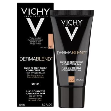 VICHY DERMABLEND CORRECTIVE FOUNDATION 55