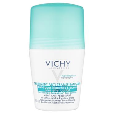 VICHY DEO ROLL ON 48HR NO MARKS
