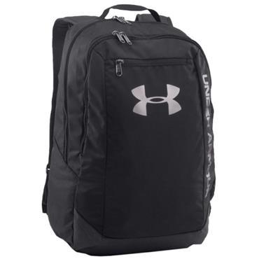 Under Armour Hustle Backpack  Black 001