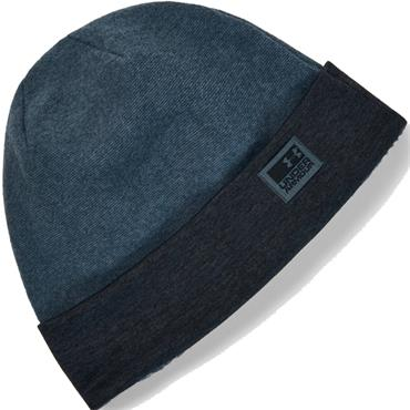 Under Armour Gents Fleece Beanie  Blue 467
