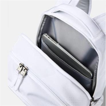 Under Armour Hustle 5.0 Backpack  White 101