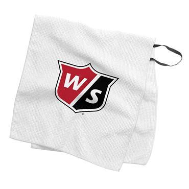 """Wilson Staff Caddie Tour Towel 16""""x36""""  White"""
