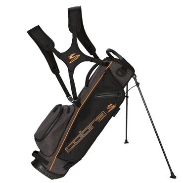 Cobra Ultralight Sunday Stand Bag  Black - Orange