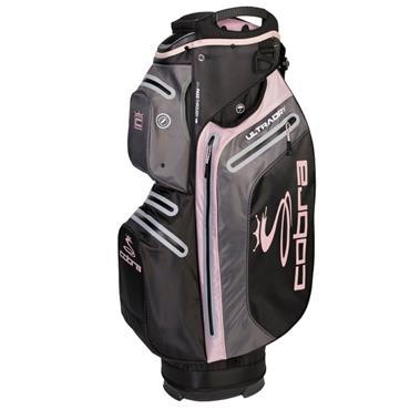 Cobra Ultradry Ladies Cart Bag  Black - Pink