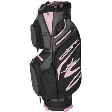 Cobra Ultralight Cart Bag  Black Rose