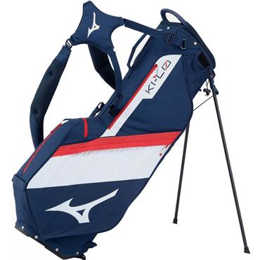 Mizuno K1-LO 20 Stand bag 4WD  Navy/Red