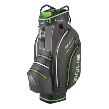 Big Max Aqua Tour 3 W/P Cart Bag  Charcoal Black Lime