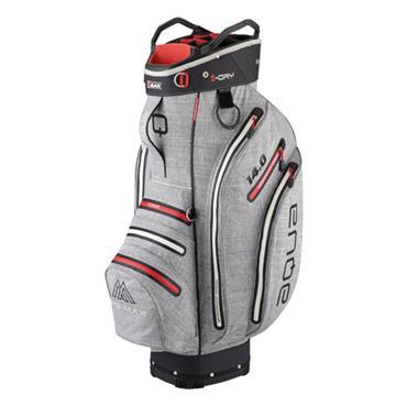 Big Max Aqua Tour 3 W/P Cart Bag  Storm Silver Red