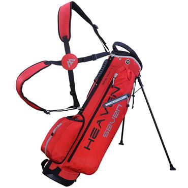 Big Max Heaven 7 Stand Bag  Red/Silver