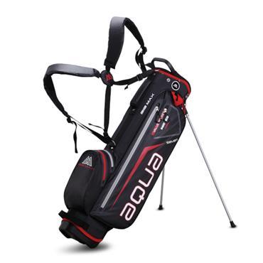 Big Max Aqua Seven W/P 4 way Stand Bag  Black/Red