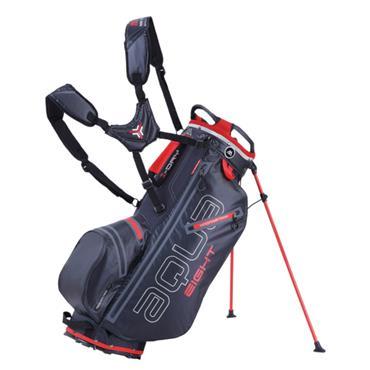 Big Max Aqua 8 W/P Stand Bag  Black/Red