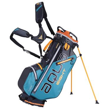 Big Max Aqua 8 W/P Stand Bag  Petrol Black Orange