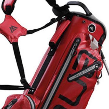 Big Max Aqua Ocean Stand Bag Waterproof  Red/Silver