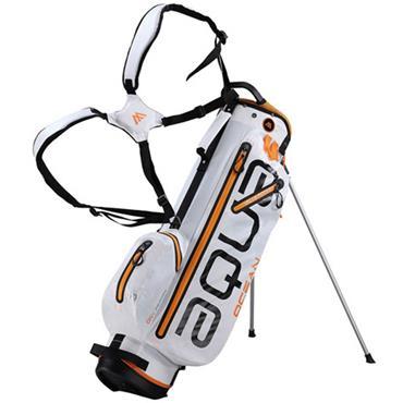 Big Max Aqua Ocean Stand Bag Waterproof  White Orange