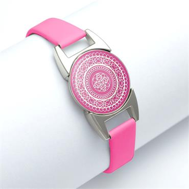 Surprizeshop Ball Marker Bracelet  Hot Pink