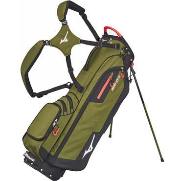 Mizuno BRD 3 Stand Bag 4 Way Divider  Green/Black