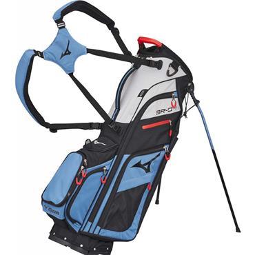 Mizuno BRD 4 Stand Bag 6 Way Divider  Blue/Black