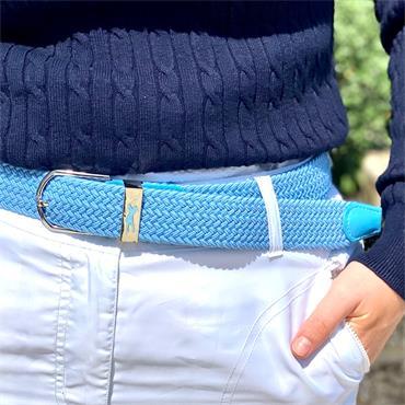 Surprizeshop Woven Belt  Blue