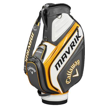 Callaway Mavrik Trolley Bag  Charcoal White Orange