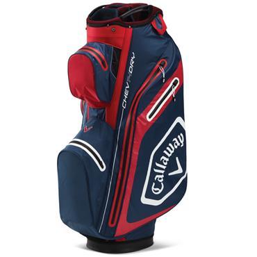 Callaway Chev Dry 14 Cart Bag  Navy/Red