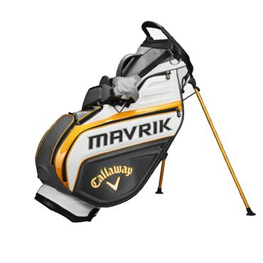 Callaway Mavrik Staff Stand Bag  Charcoal White Orange