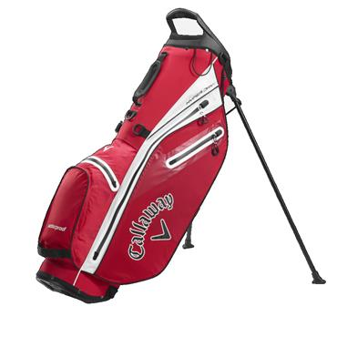 Callaway Hyper Dry C Stand Bag  Red/White