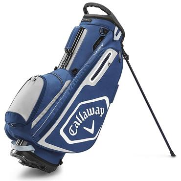 Callaway Chev Stand Bag  Navy Silver