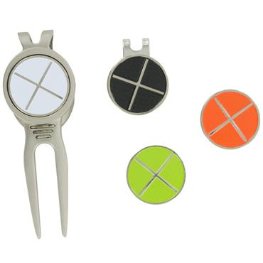 Golfers Club Collection Divot Tool & Alignment Markers