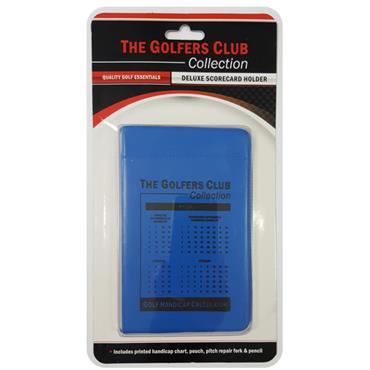 Golfers Club Collection Scorecard Holder CH01  Blue