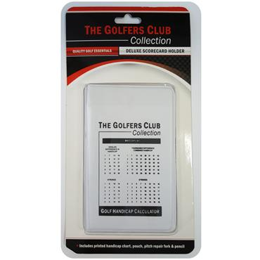 Golfers Club Collection Scorecard Holder CH01  White