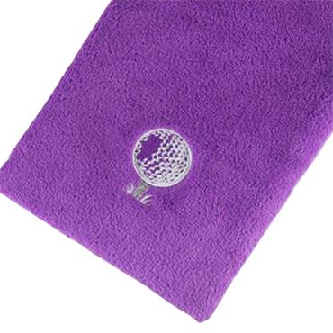 Surprizeshop Bag Towel With Carabiner  Purple