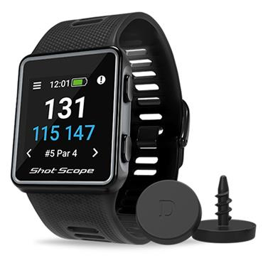 Shot Scope V3 Shotscope GPS Watch  Black