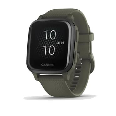 Garmin Venu Sq Music GPS Watch  Moss Slate