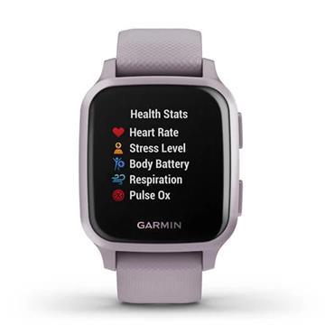 Garmin Venu Sq GPS Watch  Lavendar Purple