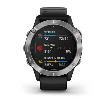 Garmin Fenix 6 GPS Watch  Black