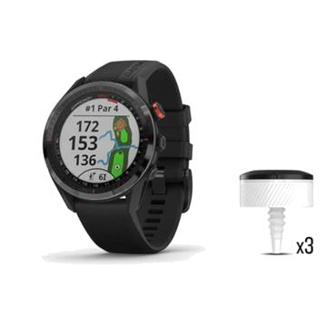 Garmin Approach S62 + CT10 Bundle  Black