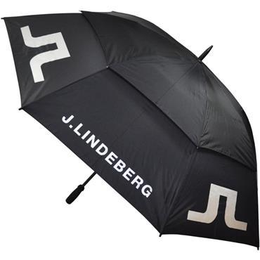 J.Lindeberg Dual Canopy Umbrella  Black 9999