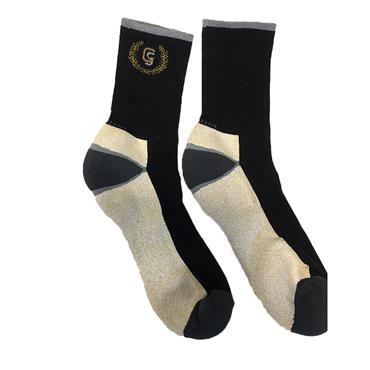 Golf Sock Ireland Gents Elite Socks Roger 2 Pair Pack  Black