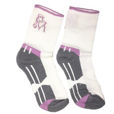 Golf Sock Ireland Ladies Socks Patty 2-Pair Pack  White Lilac