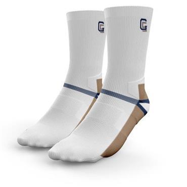 Golf Sock Ireland Ladies Elite  Socks Annika 2 Pair  White