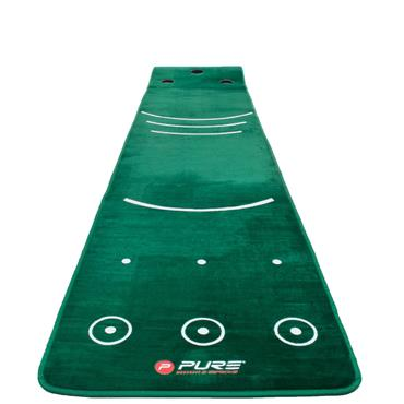 Pure 2 Improve Putting Mat With Broom 0.7x3.35m  .