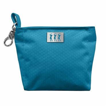 Surprizeshop Honeycomb Clip Handbag  Aqua