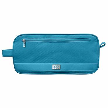 Surprizeshop Honeycomb Shoe Bag  Aqua