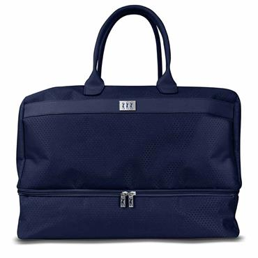 Surprizeshop Honeycomb Holdall with Shoe Compartment  Blue