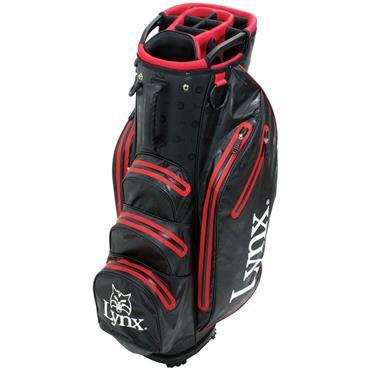 Lynx Prowler Waterproof Cart Bag  Black/Red