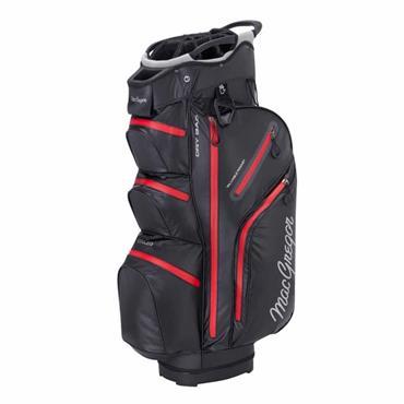 "MacGregor Mactec Water Repellent 10"" Cart Bag  Black/Red"