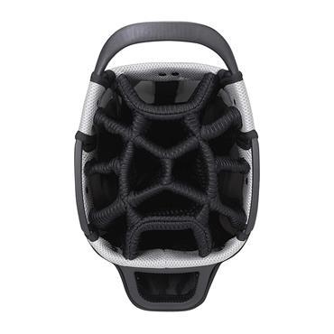 """MacGregor Mactec Water Repellent 10"""" Cart Bag  Charcoal/Black"""