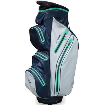 Masters Golf Tour Dri W/P Trolley Bag  Navy Mint