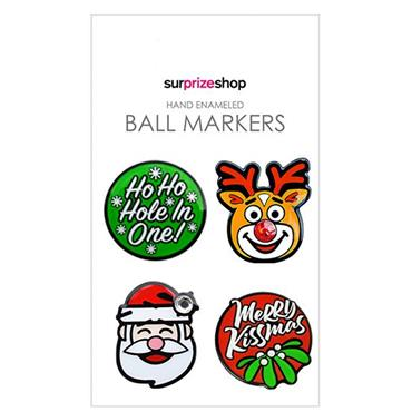 Surprizeshop Santas Selection Ball Marker Set  .