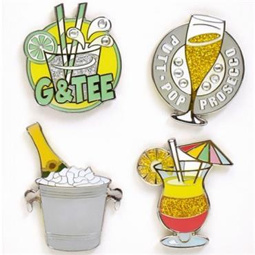 Surprizeshop Its 5 O'Clock Somewhere Ball Marker Set  .